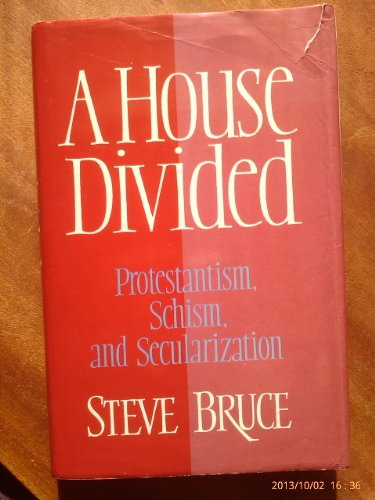 A House Divided: Protestantism, Schism and Secularization: Bruce, Steve