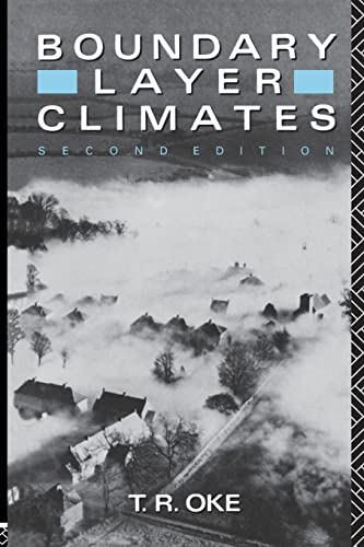 9780415043199: Boundary Layer Climates