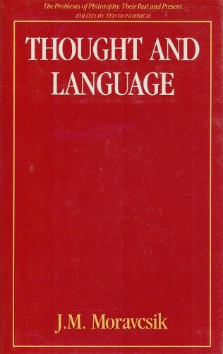 9780415043229: Thought and Language (Problems of Philosophy)