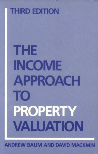 9780415043892: The Income Approach to Property Valuation