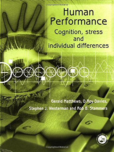 9780415044066: Human Performance: Cognition, Stress and Individual Differences