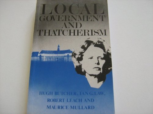Local Government and Thatcherism