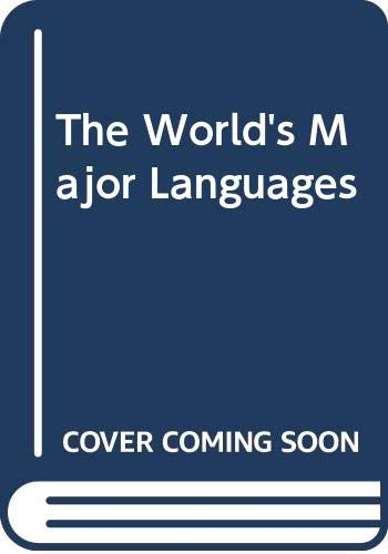 9780415045162: The World's Major Languages