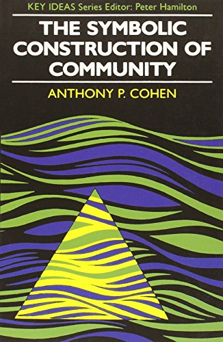 Symbolic Construction of Community (Key Ideas): Anthony P. Cohen