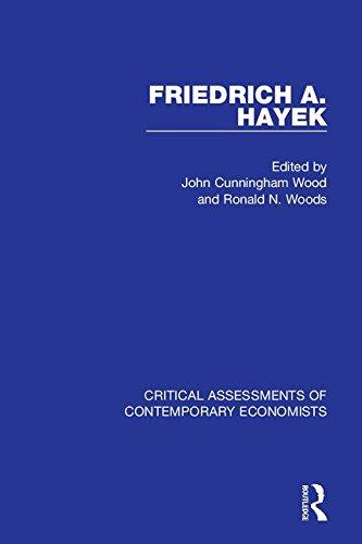9780415046596: Friedrich A. Hayek: Critical Assessments (Critical Assessments of Contemporary Economists)