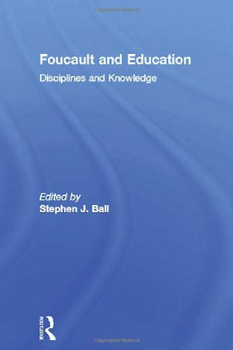 9780415047104: Foucault and Education: Disciplines and Knowledge