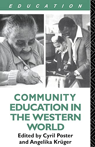 9780415047159: Community Education and the Western World
