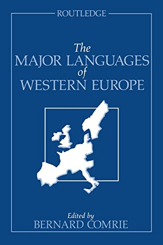 9780415047388: The Major Languages of Western Europe