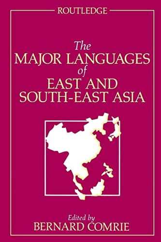 The Major Languages of East and South-East
