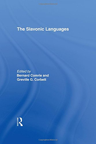 9780415047555: The Slavonic Languages (Routledge Language Family Series)