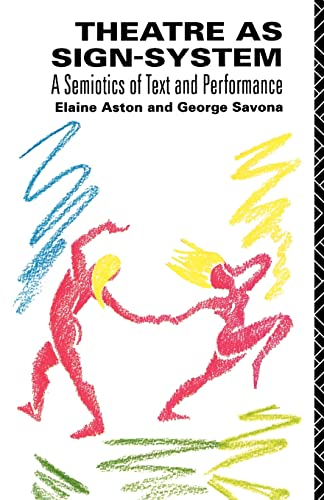 9780415049320: Theatre as Sign-System: A Semiotics of Text and Performance