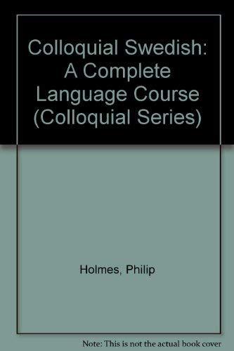 9780415049399: Colloquial Swedish (Colloquial Series)