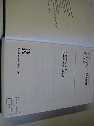 9780415049566: A Survey of Modern English