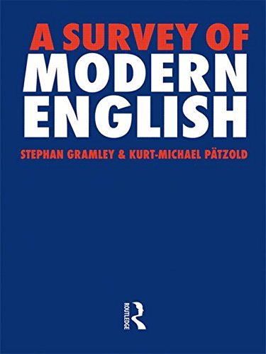 9780415049573: A Survey of Modern English
