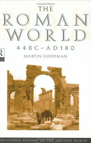 9780415049696: The Roman World 44 BC–AD 180 (The Routledge History of the Ancient World)