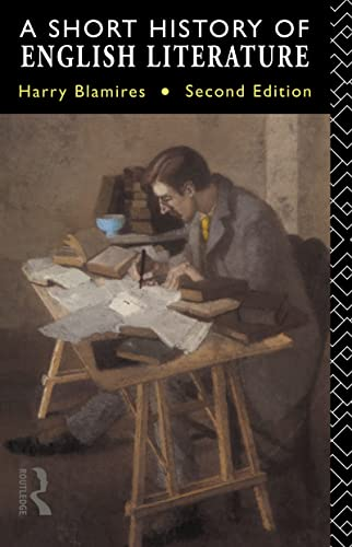 9780415050784: A Short History of English Literature (Second Edition)