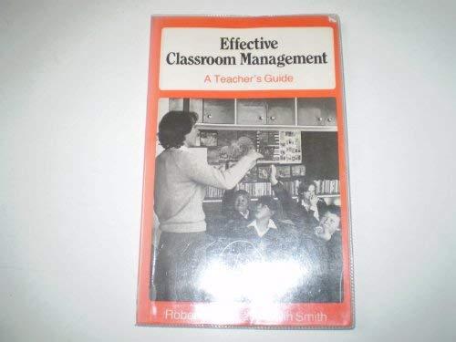 9780415051323: Effective Classroom Management: A Teacher's Guide