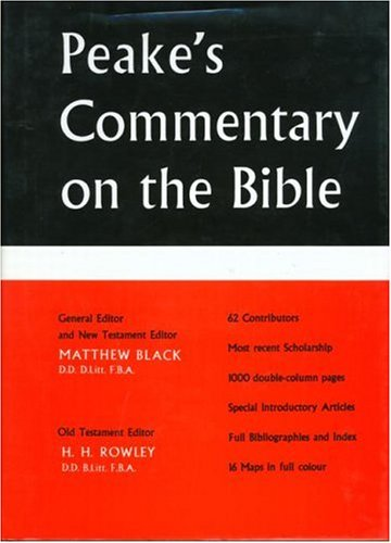 9780415051477: Peake's Commentary on the Bible