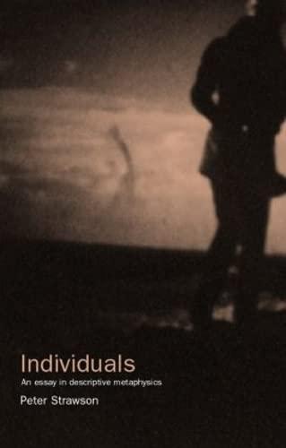 9780415051859: Individuals (University Paperbacks; Up)