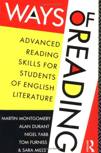 9780415053204: Ways of Reading: Advanced Reading Skills for Students of English Literature