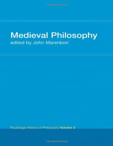 9780415053778: Medieval Philosophy (Routledge History of Philosophy, Vol. 3)