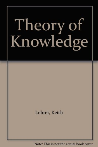 9780415054072: Theory of Knowledge