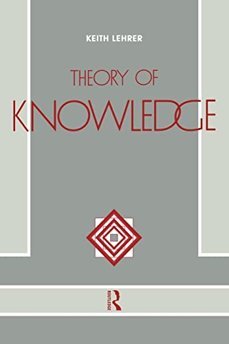 9780415054089: Theory of Knowledge