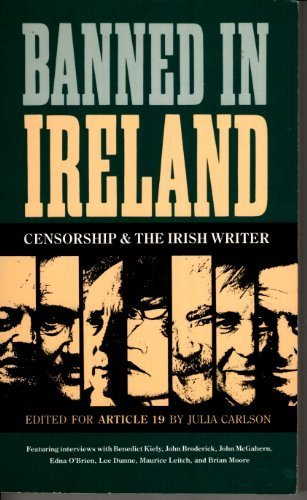9780415054140: Banned in Ireland : Censorship and the Irish Writer