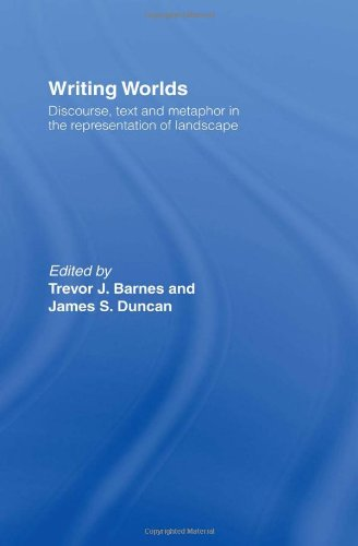 9780415054997: Writing Worlds: Discourse, Text and Metaphor in the Representation of Landscape