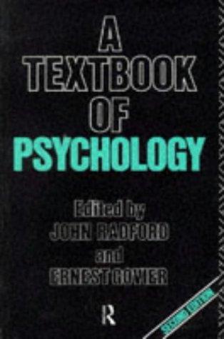 9780415055130: A Textbook of Psychology