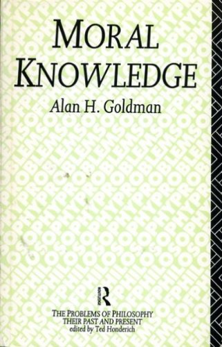 9780415055185: Moral Knowledge (Problems of Philosophy)