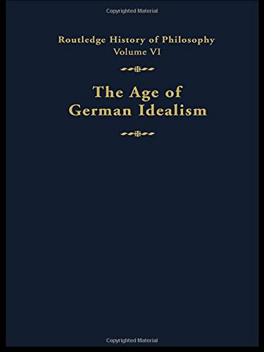 9780415056045: The Age of German Idealism: Routledge History of Philosophy Volume VI (Volume 5)