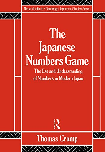 9780415056090: Japanese Numbers Game (Nissan Institute/Routledge Japanese Studies)