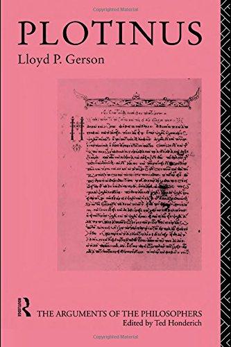 9780415056625: Plotinus (Arguments of the Philosophers)