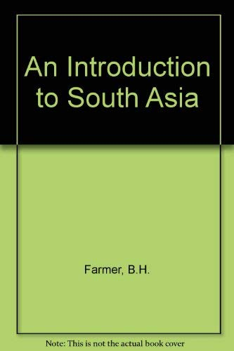 9780415056953: An Introduction to South Asia