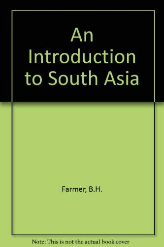 9780415056960: An Introduction to South Asia