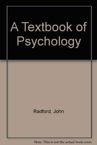 9780415057400: Textbook Of Psychology