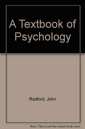 9780415057400: A Textbook of Psychology