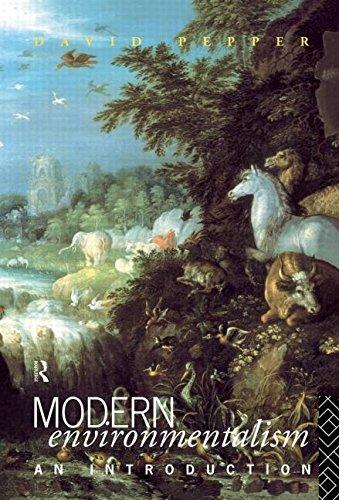 9780415057448: Modern Environmentalism: An Introduction
