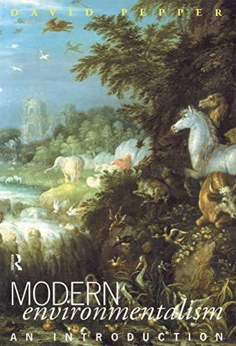 9780415057455: Modern Environmentalism: An Introduction