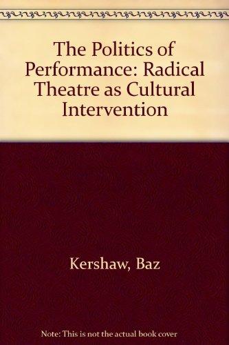 9780415057622: Politics Performance Cl/Kershaw