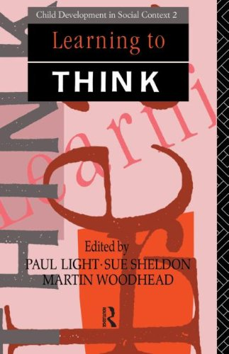 9780415058247: Learning to Think (Child Development in a Social Context)