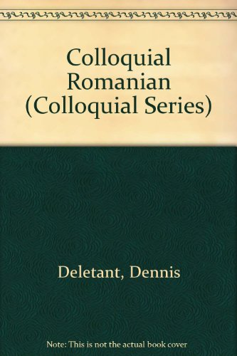 9780415058483: Colloquial Romanian (Colloquial Series)