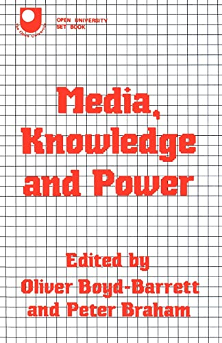 9780415058742: Media, Knowledge and Power