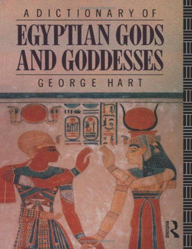 9780415059091: A Dictionary of Egyptian Gods and Goddesses