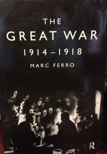 9780415059237: The Great War 1914-1918 (Ark Paperbacks)