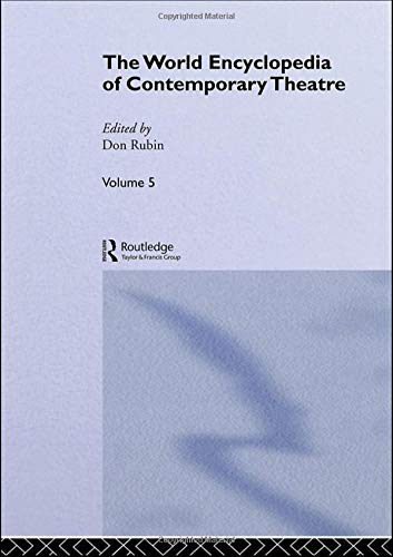 9780415059336: World Encyclopedia of Contemporary Theatre, Vol. 5: Asia / Pacific