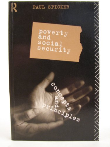 Poverty and Social Security: Spicker Paul
