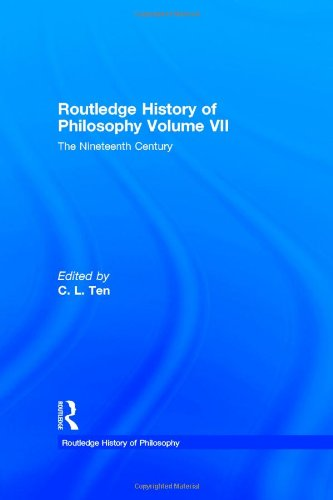 9780415060035: The Nineteenth Century (Routledge History of Philosophy, Vol. 7)