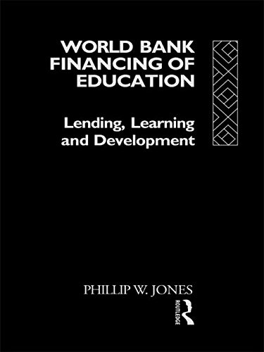 9780415060783: World Bank Financing of Education: Lending, Learning and Development